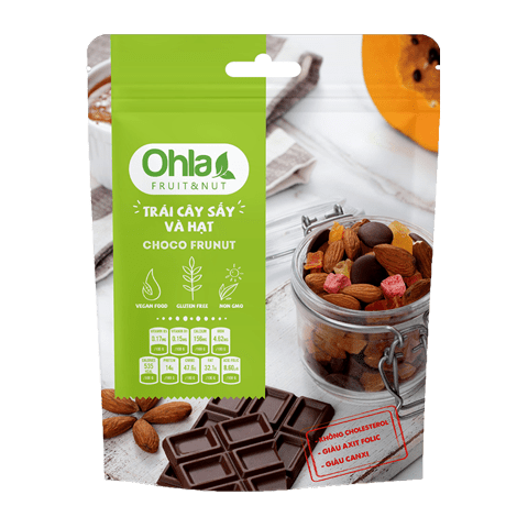 dried fruit and nuts choco frunut ohla