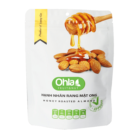 honey roasted almond ohla