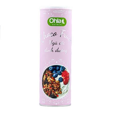 ngũ cốc choco fruit ohla 350g