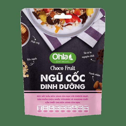 ngũ cốc dinh dưỡng choco fruit ohla