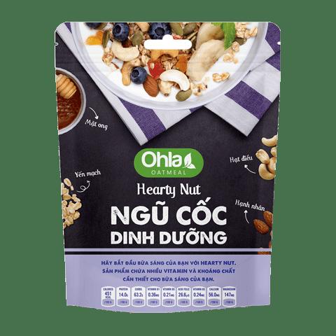 ngũ cốc dinh dưỡng hearty nut ohla
