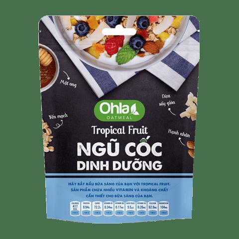 ngũ cốc dinh dưỡng tropical fruit ohla