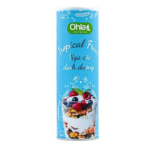 ngũ cốc tropical fruit ohla 350g