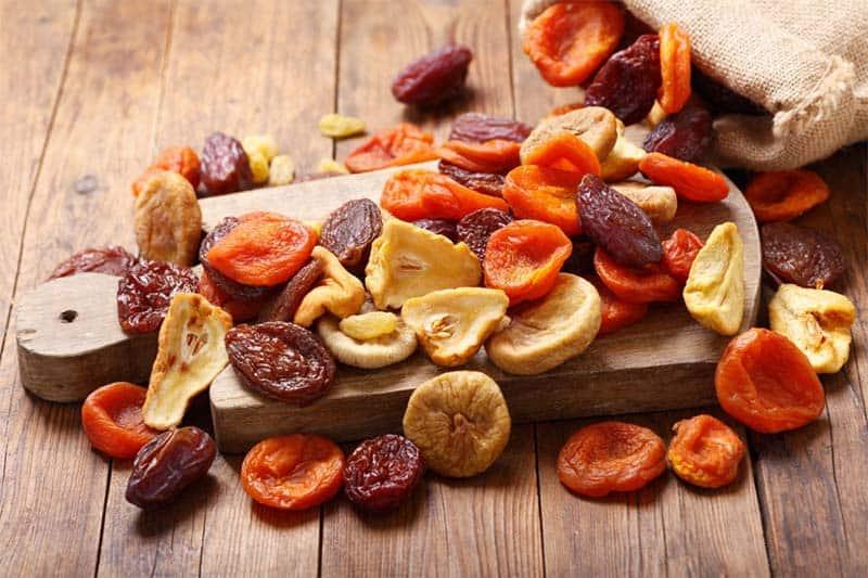 tác dụng trái cây sấy