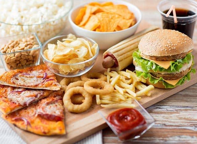 Вредное влияние фастфуда на здоровье