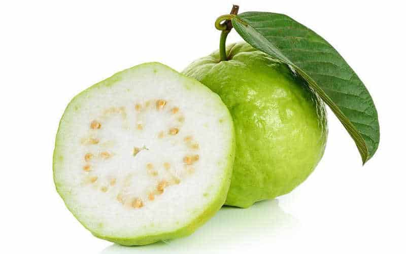 Nutritional content and health benefits from Guava