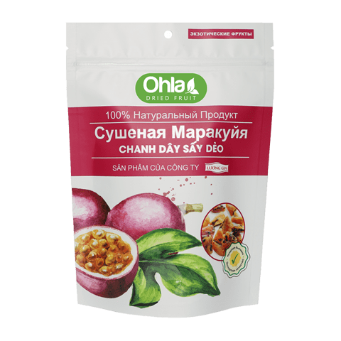chanh dây sấy dẻo 500g ohla