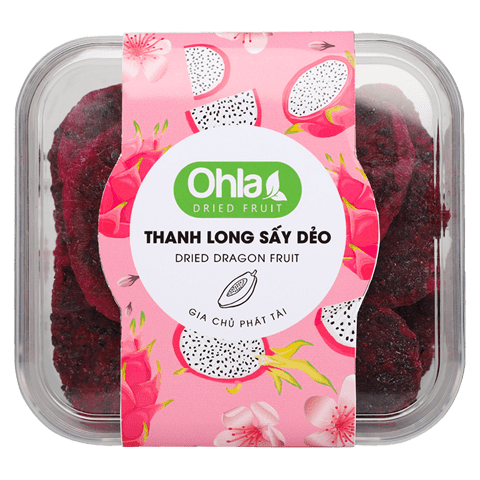 thanh long sấy dẻo ohla 200gr