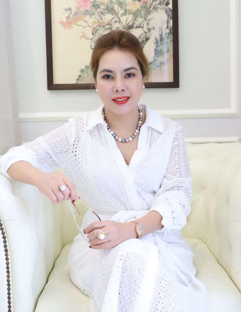 Chị Jessica Lương - Tổng giám đốc công ty Lương Gia